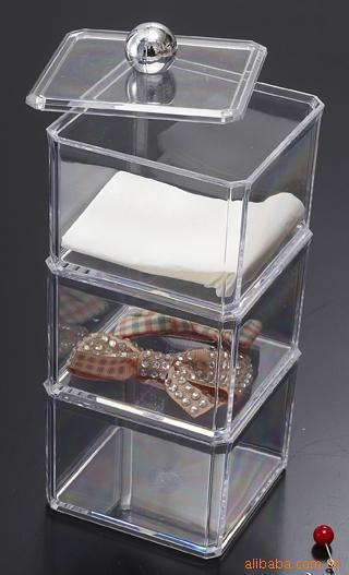 organizer box for jewelry storage box in acrylic makeup organizer cofre ikea  caixa organizadora 3 layers. Makeup Storage Organizer Ikea
