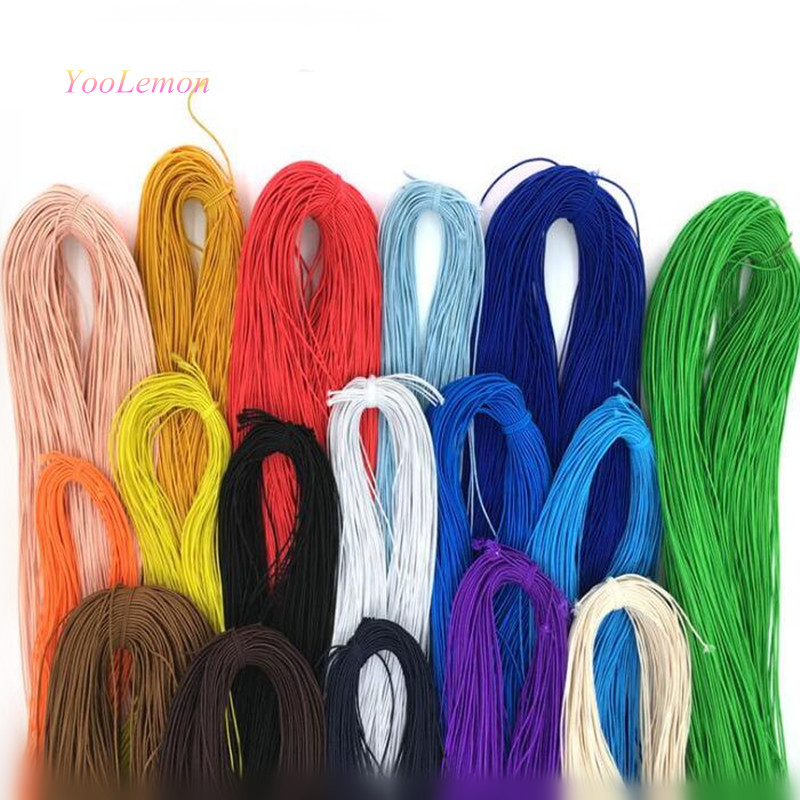 100 Meters* 1mm Beading Elastic Stretch Cord Elastic Band Beads Cord String Strap Rope For Bracelet