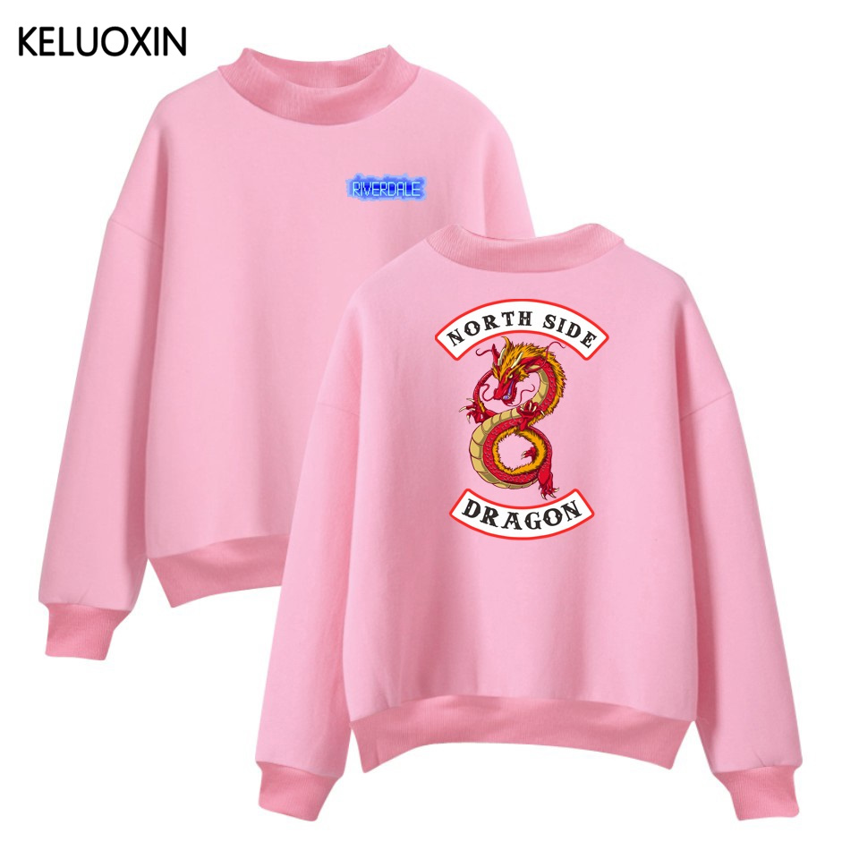 keluoxin fashion american tv riverdale turtleneck