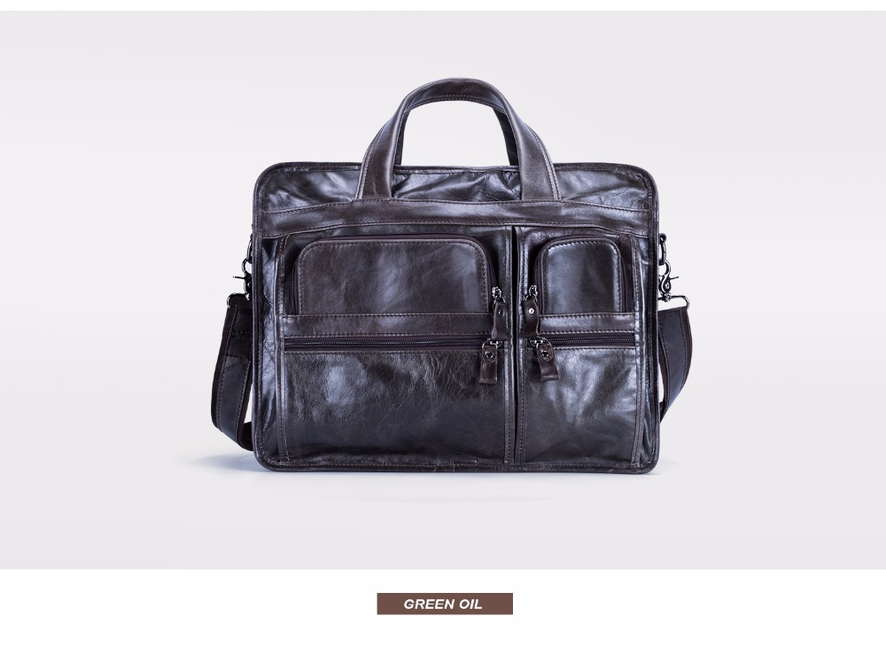 HTB1Qs 0c7fb uJkHFJHq6z4vFXaO JOYIR Genuine Leather Men Briefcases Laptop Casual Business Tote Bags Shoulder Crossbody Bag Men's Handbags Large Travel Bag