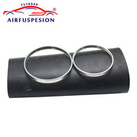 For Audi A6 C6 4F Allroad Rear Pillow Rubber Sleeve with rings Air Sleeve Air Suspension Repair Kit Bladder 4F0616001 4F0616001J
