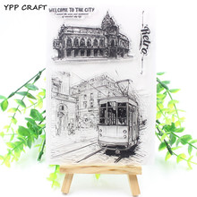 YPP CRAFT Retro Transparent Clear Silicone Stamp/Seal for DIY scrapbooking/photo album Decorative clear stamp