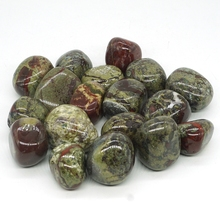 Natural Dragon Blood Stone Tumbled Gemstone Rock Mineral Crystal Healing Chakra Meditation Feng Shui Decor Collection
