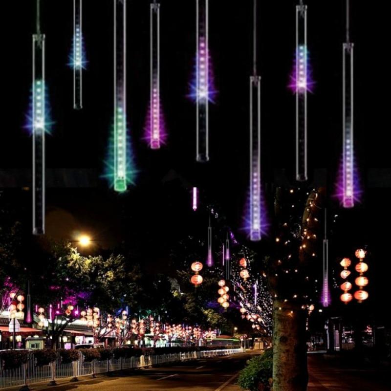 20/30 / 50CM luci di Natale all'aperto tenda LED String Lights - Illuminazione a LED