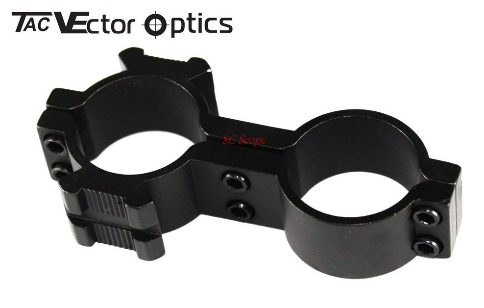 Wholesales 10pcs Tactical 8 FIGURE Dual Hole Laser / Flashlight / Scope Ring Mount 30mm / 1 inch or 25.4mm 1 / 25.4mm 1 inch