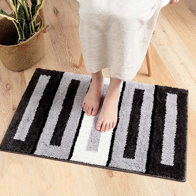 Stripes Pattern Door Floor Mats Very Comfort Carpets Kitchen Living Room Bathroom Rugs Home Decor Crafts