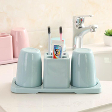 BS040 creative brush cup wash gargle toothbrush holder  Double suit 26.5*10*12cm
