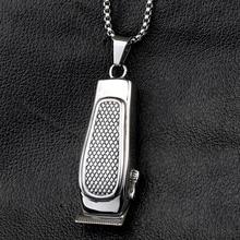 Men's Barber Designed Pendant Necklace