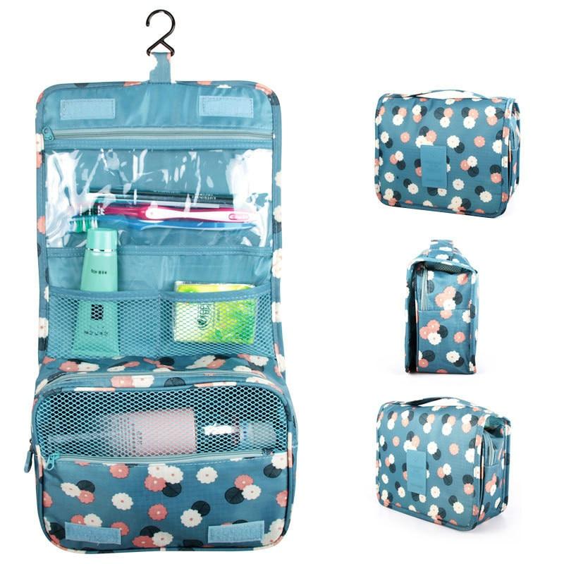 Wonderful Black Hanging Bag Travel Toiletry Compact Cosmetic Organizer For MEN / Women | EBay