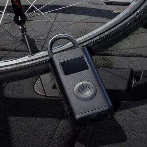 Image 2 - Stock Xiaomi Mijia Portable intelligent numérique pression des pneus pompe à Air détection USB gonfleur pneus électriques pour vélo moto voiture