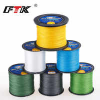 FTK Brand TP500M/547Yds Super PE Braided Multifilament Fishing Line 8LB 10LB 20LB 30LB 40LB 60LB Braided Line linha de pesca