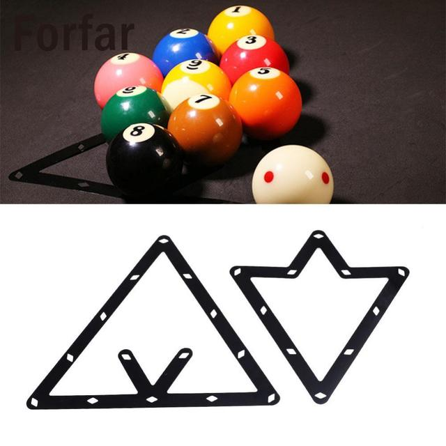 Forfar Magic Billiards Ball Rack Positioning Table Sticker Template Billiard Accessory