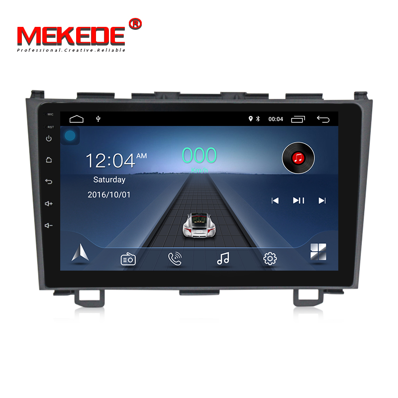 "MEKEDE Android 8.1 Car GPS Radio Player for Honda CRV CR-V 3 2006 2007 2008-2011 9"" Audio Video Stereo Multimedia 2 Din no DVD"