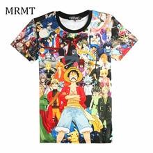 2017 Hot Men Women Summer one piece NARUTO Pikachu Cartoon Print O-Neck Short Sleeve Boy Girl Hip Hop 3D Anime T Shirts