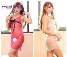 цены Meethope Lingerie Sexy Erotic Hot Babydoll Dress Women Transparent Floral Lace Night Porn Chemise Underwear Fantasy Sex Clothes
