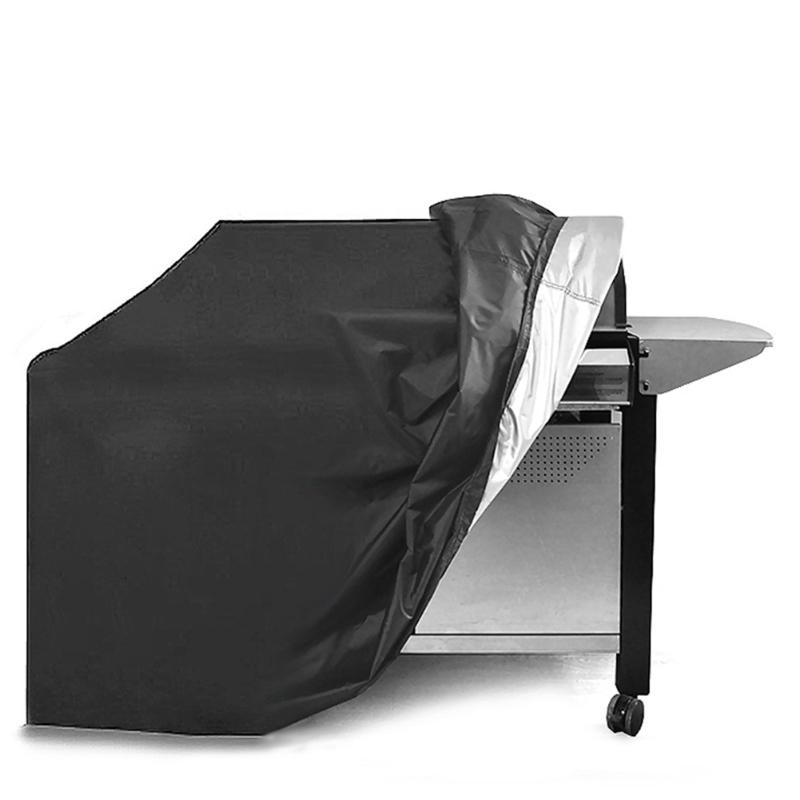 S/M/L Waterproof BBQ Cover Dustproof Polyester Fibre Cloth Large BBQ Cover Gas Barbecue Grill Cover For Patio Protector