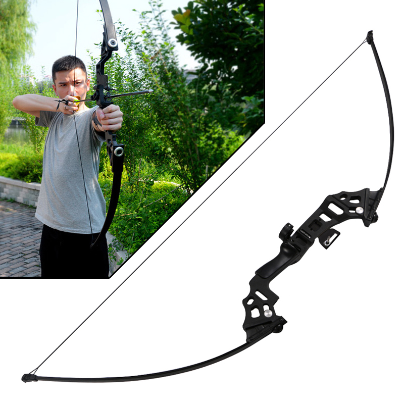 New 122cm 51 inches 40lbs American Hunting Bow Aluminum Alloy Professional Straight Bow Archery Competitions Fitness Recurve Bow new 23 inches lm230wf5 tld1 1920 x1080 lm230wf5 tld1 lm230wf5tld1 tld2