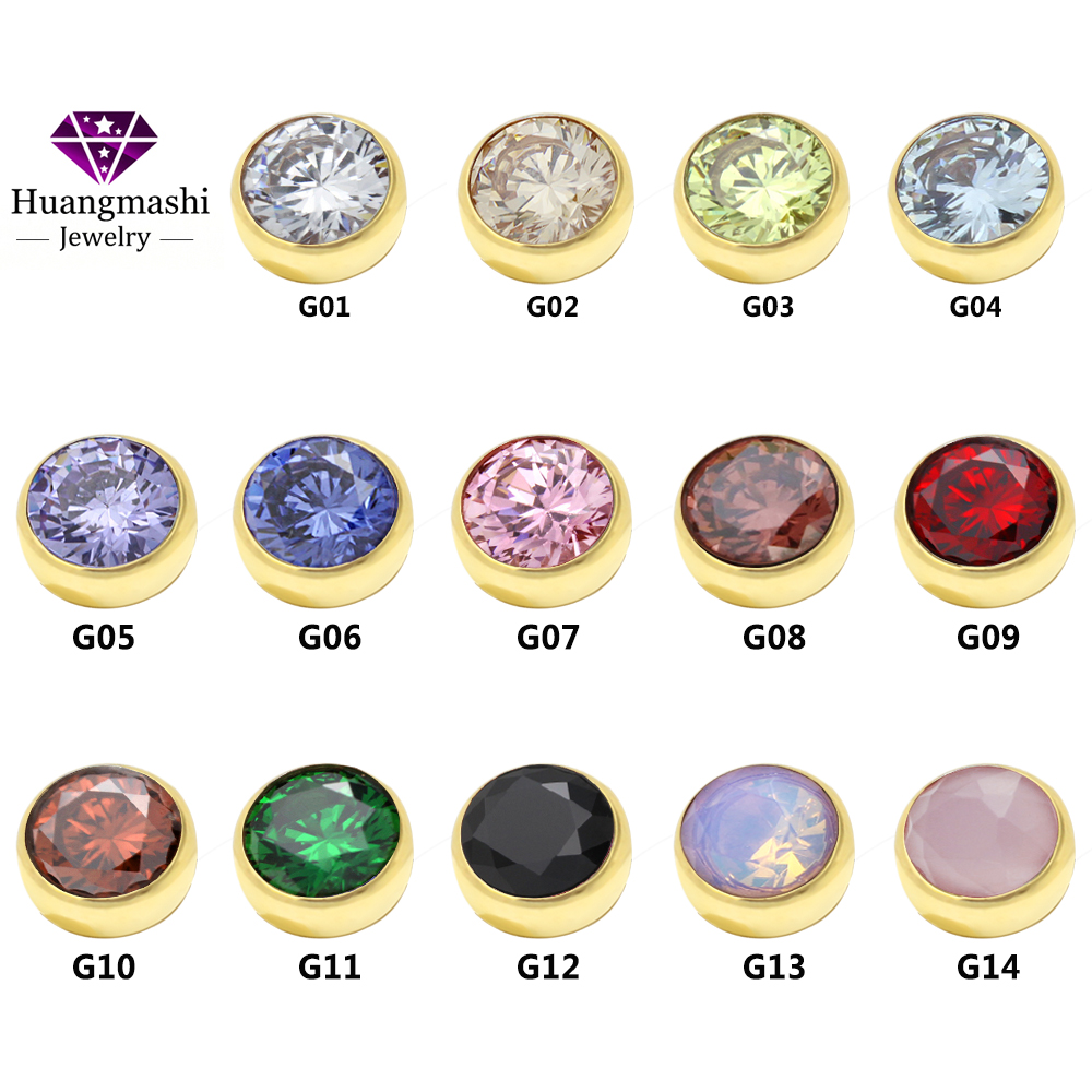 Newest Fashion Jewelry Twisted zetting Ring Head Accessories 14 Colors Zircon Can Choose ME002