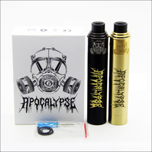 Apocalypse gen 2 Starter Kit with apocalypse gen 2 Mechanical Vape Mod and RDA Atomizer Black Gold Colors Vaporizer kit