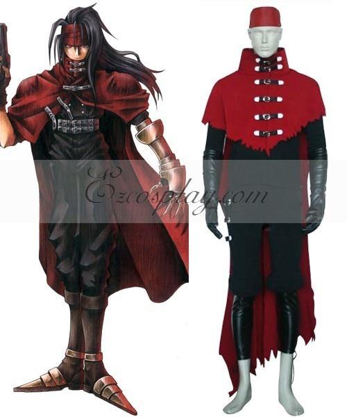 Aliexpresscom Buy Final Fantasy Vii Vincent Valentine Cosplay