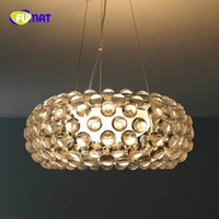 Dia35/50/65cm Dinning Room Foscarini Caboche Pendant Lamp Light Acrylic Balls Suspension Lighting Fixtures for livingroom Lustre