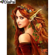 DIAPAI Diamond Painting 5D DIY 100% Full Square/Round Drill Beauty character Embroidery Cross Stitch 3D Decor A24840