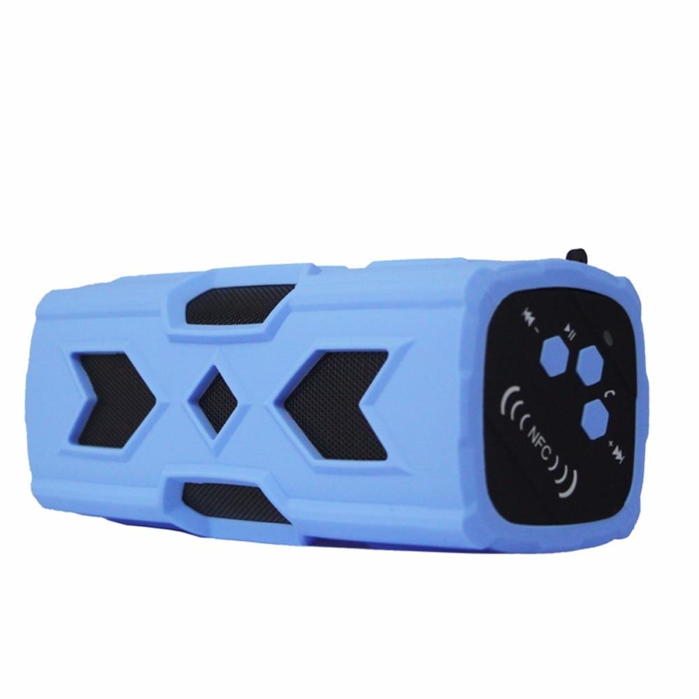 Wireless Bluetooth Speaker Waterproof Shockproof NFC Music Plyer Handsfree Call Power Bank Stereo Sound Loudspeaker Box