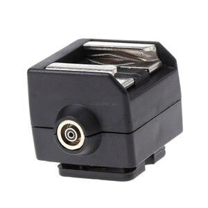 Image 4 - Yeni SC 2 sıcak ayakkabı adaptörü dönüştürücü PC Sync soket Canon Nikon Pentax olympus için kamera
