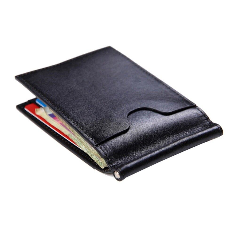 2 Front Pocket Money Clip Wallet for Men Clip for Dollar Italy Vegetable Cow Leather Slim 6 ...