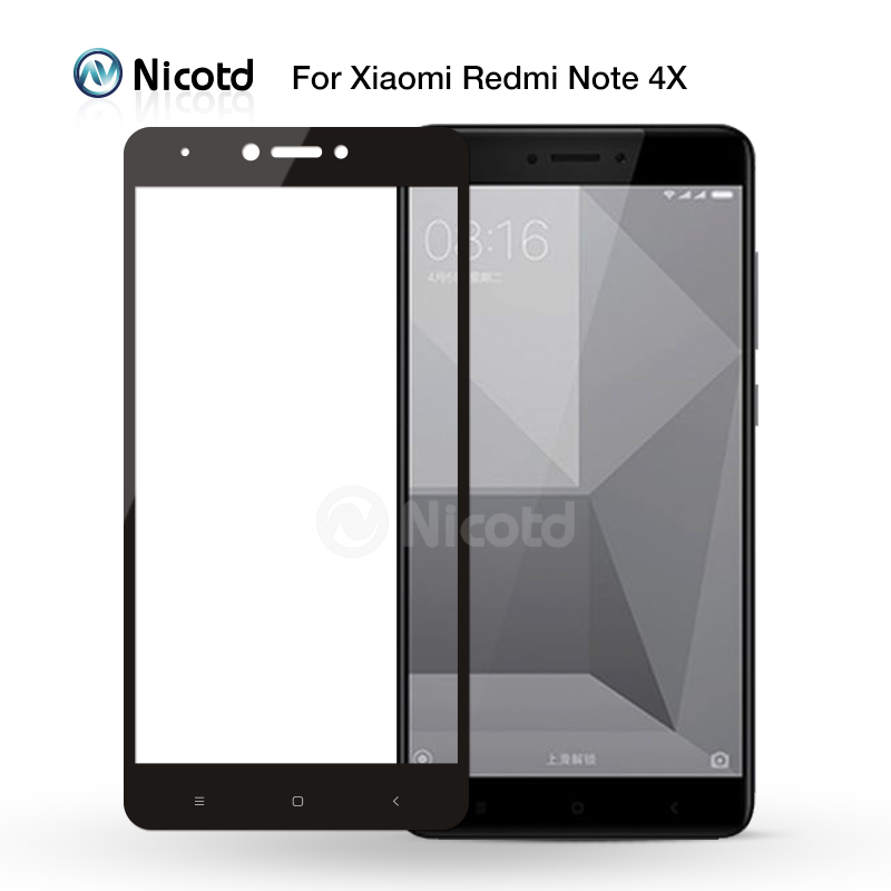 Full Cover Tempered Glass For Xiaomi Redmi 4X 4A 3s For Redmi Note 5A prime 5plus 3X Note 4 3 4X Screen Protector Toughened Film 4