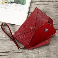 CASESHIP For IPhone 7 Case 7 Plus 6 6S Plus Letter Shape Women Hand Bag Case