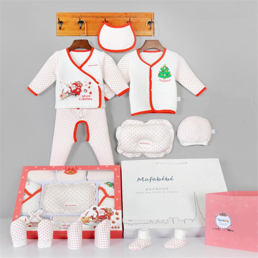 12 PCS Baby Clothes Newborn Outfits Autumn Babe Cotton Set Shirt Pants Gift Casual Babies Clothing Winter Infant Set 70Z2058