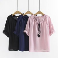 Oversize Plus Size Cotton O Neck solid pink T Shirt Women Short Sleeve Tshirt 2019 t shirt Summer Top