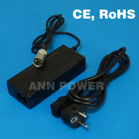 Free Shipping 36V 2A LiFePO4 Battery Charger Output 43 8V 2A Charger Used For 12S 36V