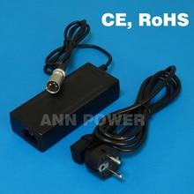 Livraison Gratuite! 36 V 2A LiFePO4 batterie chargeur sortie 43.8 V 2A chargeur Utilisé pour 12 S 36 V 10Ah 8Ah 12Ah lifepo4 batterie de charge
