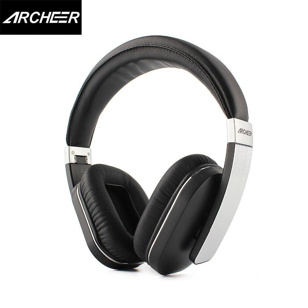 ARCHEER AH07 Складные bluetooth наушники беспроводной стерео наушники с микрофоном мягкие вкладыши чашки регулируемая гарнитура 100% оригинал