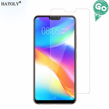 2PCS Screen Protector Glass For Vivo V9 Anti-brust Tempered Y85 / Film #