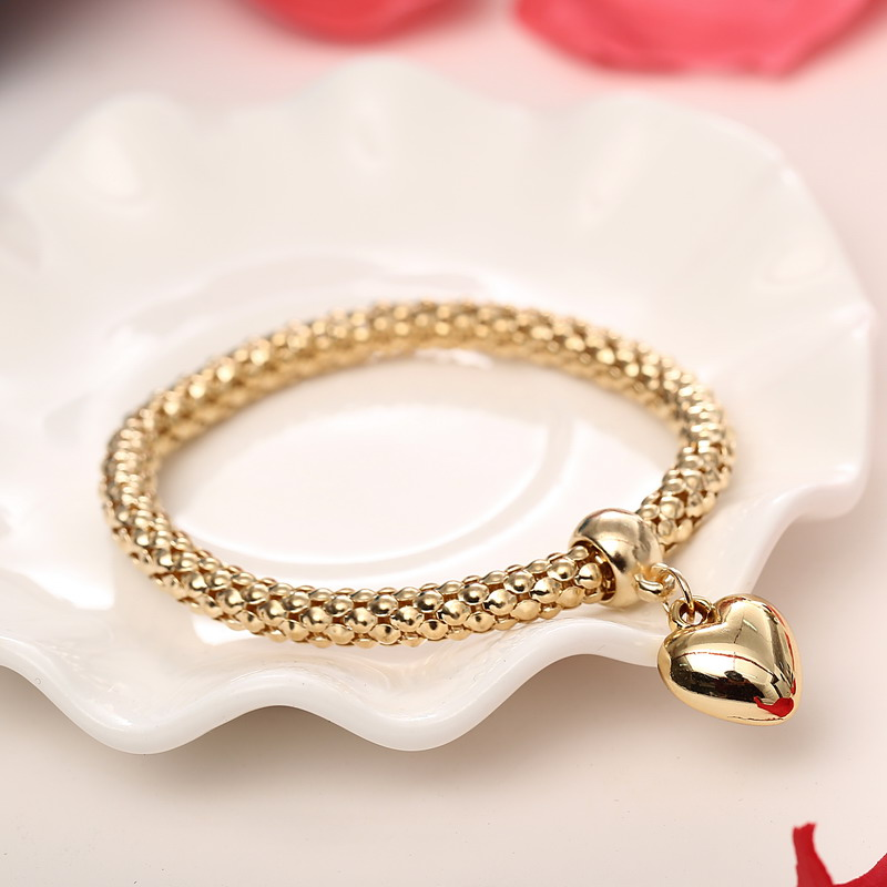 3 Pcs Set Crystal Owl Heart Charm Bracelets Bangles Gold Silver Alloy Elephant Anchor Pendants Rhinestone
