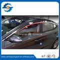 High Quality Plating Car Window Visor Wind Deflector Sun Rain Guard Defletor For ELANTRA AD 2016