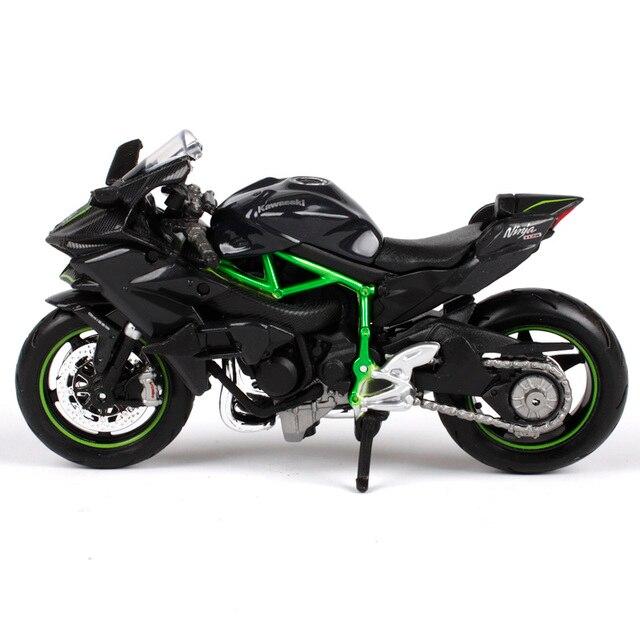 MAISTO 118 Kawasaki Ninja H2R H2 R MOTORCYCLE BIKE DIECAST MODEL TOY NEW IN