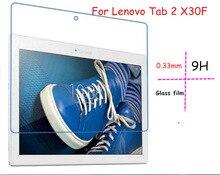 """Ультра тонкий 2.5D Премиум Закаленное стекло-экран протектор для Lenovo Tab 2 X30F TB2-X30F A10-30 X30 10.1 """"TB3-X70L защитный пленка"""