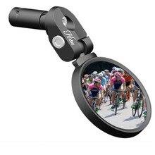 Bici da strada Specchio Della Bicicletta Bici Da Corsa Manubrio Specchio Specchio Flessibile di Sicurezza Da Corsa Retrovisore Regolabile Specchi Infrangibile