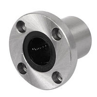 LMF20UU 20mm Inner Dia Round Flange Mounted Linear Ball Bearing Bushing