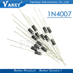 100PCS 1N4007 1N5819 1N4001 UF4007 FR107 FR157 FR207 1N4004 1N4937 HER107 RL207 1N5817 1N5399 DO-41 Rectifier Diode