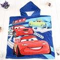 120 cm * 60 cm do bebê das crianças dos miúdos dos desenhos animados com capuz de algodão casaco com capuz towel beach towel toalhas de banho para crianças