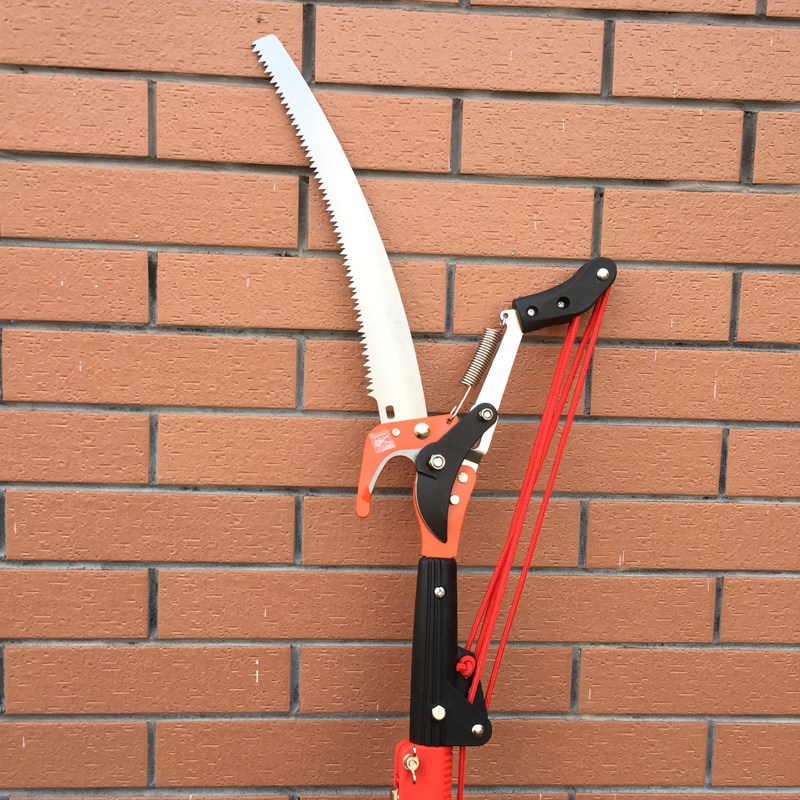 high altitude 4 pulley pruning scissors tree trimmer branches cutter garden shears saw fruit pick cutting