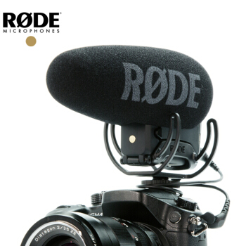 Rode VideoMic Pro + plus. Shot gun video intervista Microfono della telecamera Rycote Lira per canon Nikon Sony Panasonic DSLR camera DV