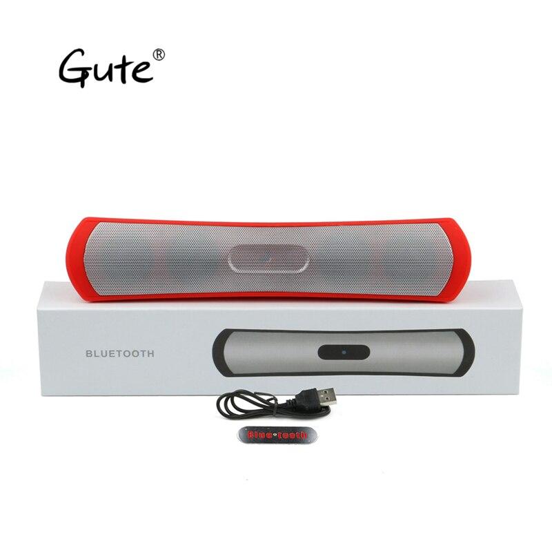 Gute 2019 plus récent barre de son carré Bluetooth sans fil haut-parleur sub woofer mains libres appel Radio enceinte bluetooth portable ciel bière