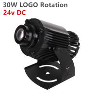 GYLBAB 30W 60w 80w 24v SK S30 logo waterproof LOGO gobo projector outdoor light lamp advertising customized Rotation IP65