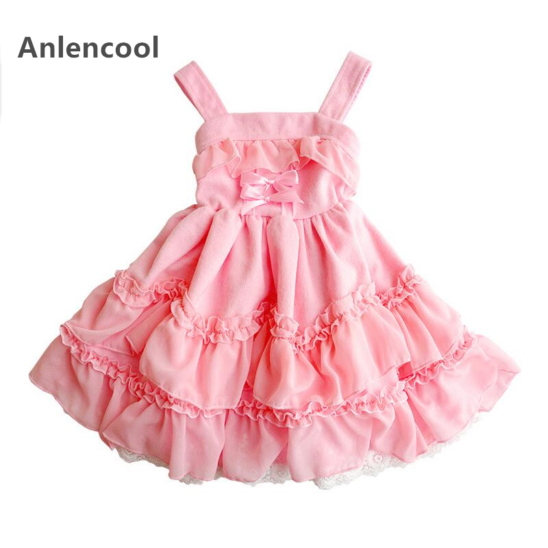 Children's clothing Girl dress 2017 new spring and autumn new princess dress high quality Girl dress baby clothing Pomp dress 2016 girl autumn dress 100